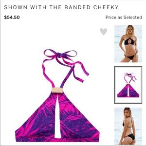 Victoria's Secret Swim - Victoria's Secret Keyhole Bikini Top NWOT